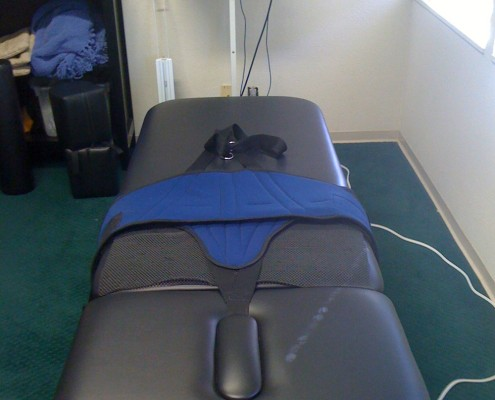 Used Dynatronics Decompression Table
