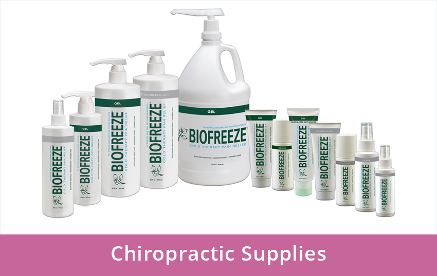 Chiropractic Supplies